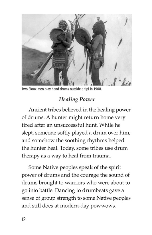 Book Preview For Drums and Drumming Page 12