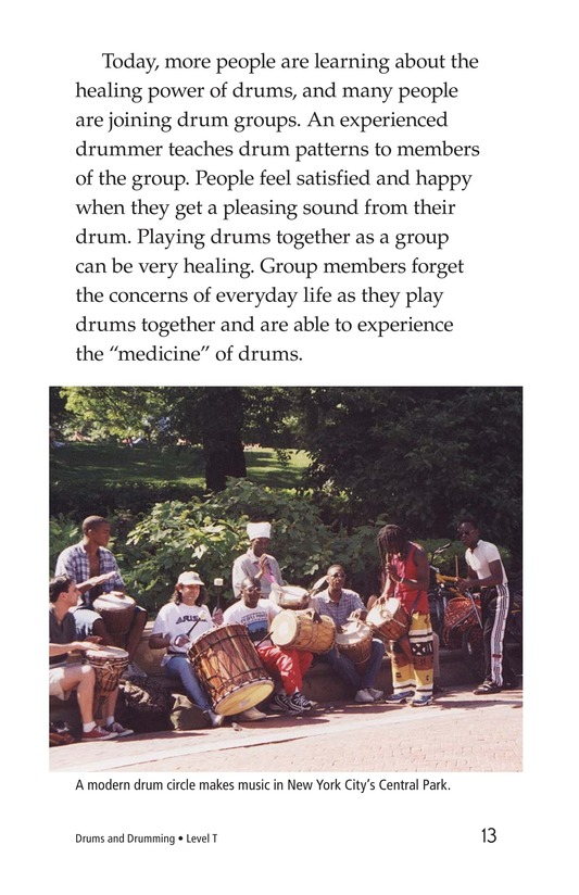 Book Preview For Drums and Drumming Page 13