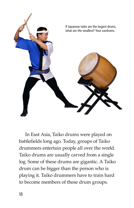 Book Preview For Drums and Drumming Page 18