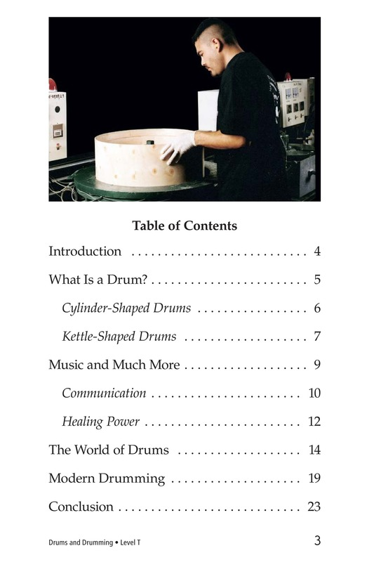 Book Preview For Drums and Drumming Page 3