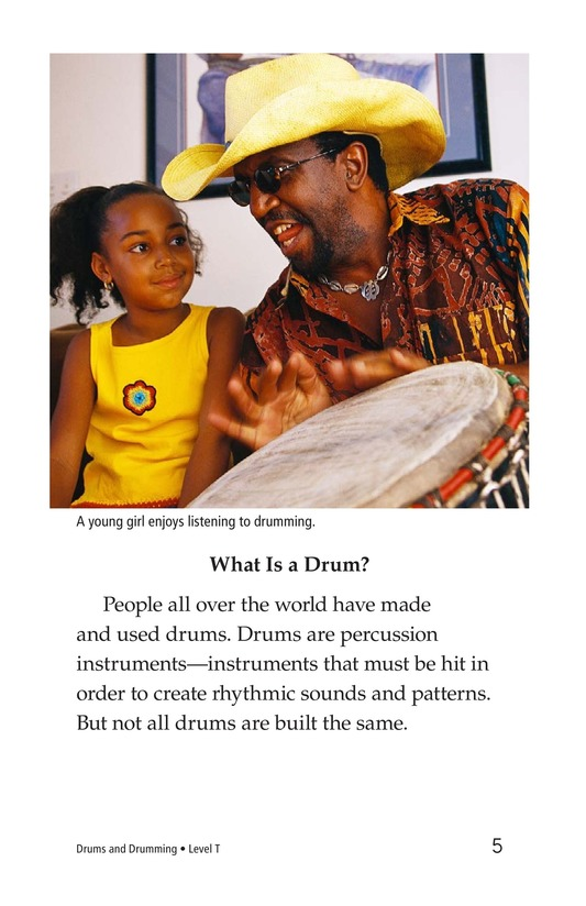 Book Preview For Drums and Drumming Page 5