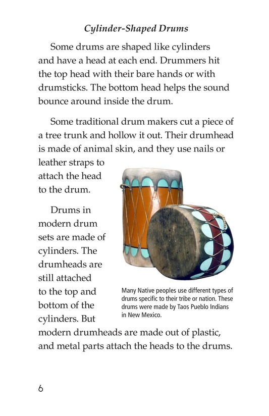Book Preview For Drums and Drumming Page 6