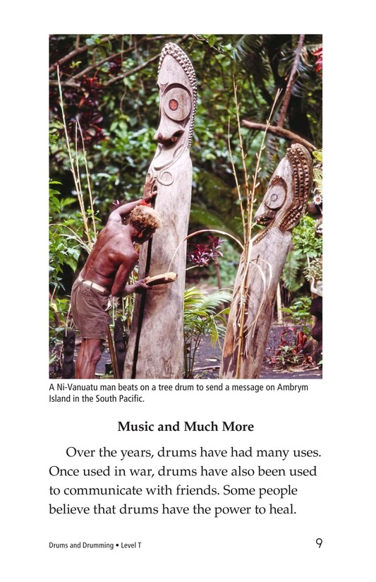 Book Preview For Drums and Drumming Page 9