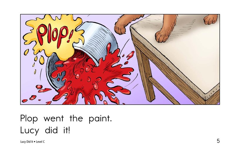 Book Preview For Lucy Did It Page 5