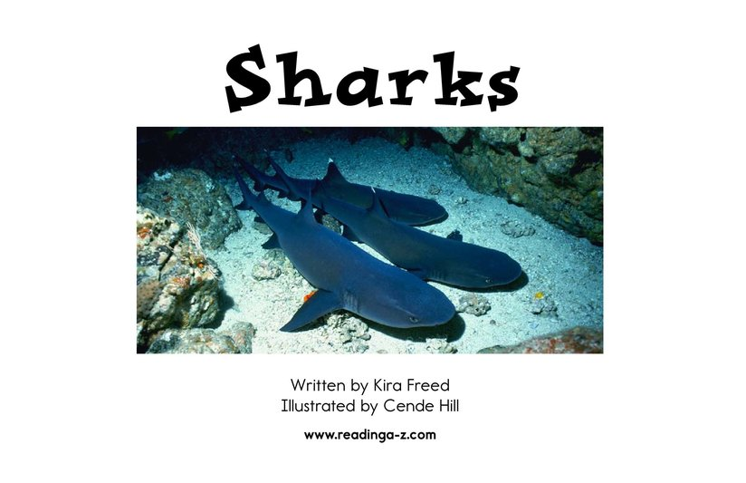 Book Preview For Sharks Page 2