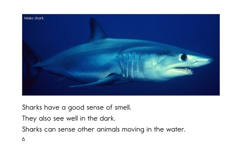 Book Preview For Sharks Page 6
