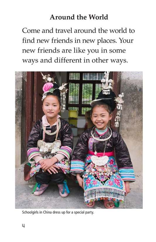 Book Preview For Friends Around the World Page 4