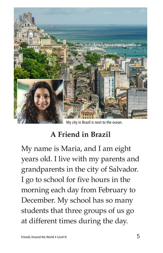 Book Preview For Friends Around the World Page 5
