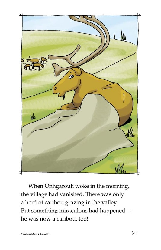 Book Preview For Caribou Man Page 21