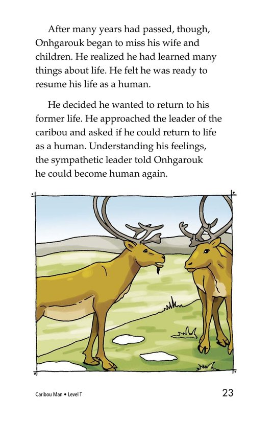 Book Preview For Caribou Man Page 23