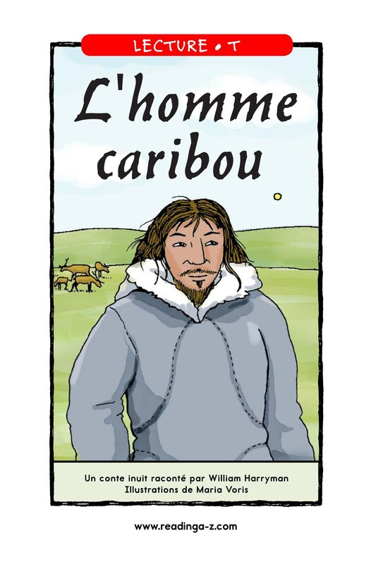 Book Preview For Caribou Man Page 1