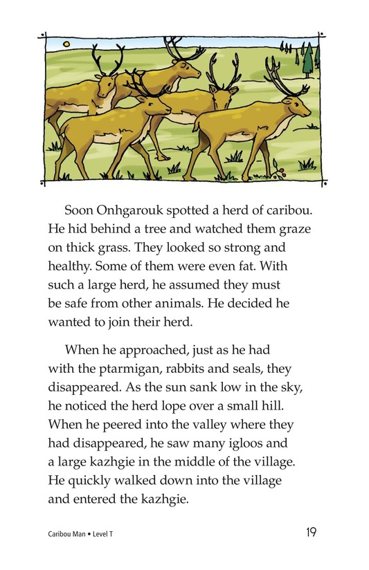Book Preview For Caribou Man Page 19