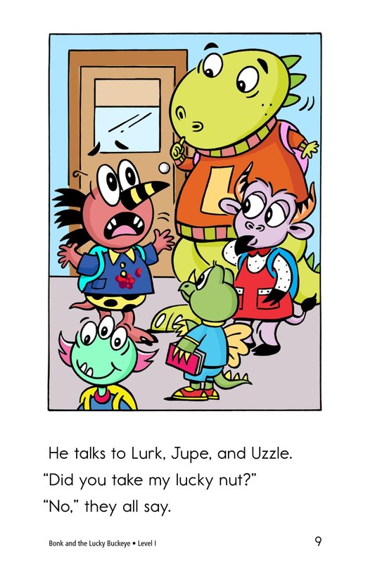 Book Preview For Bonk and the Lucky Buckeye Page 9