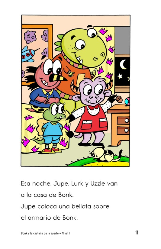 Book Preview For Bonk and the Lucky Buckeye Page 11