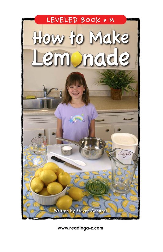 Book Preview For How to Make Lemonade Page 1