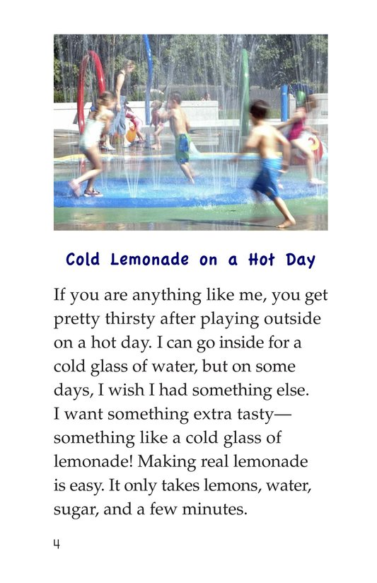 Book Preview For How to Make Lemonade Page 4