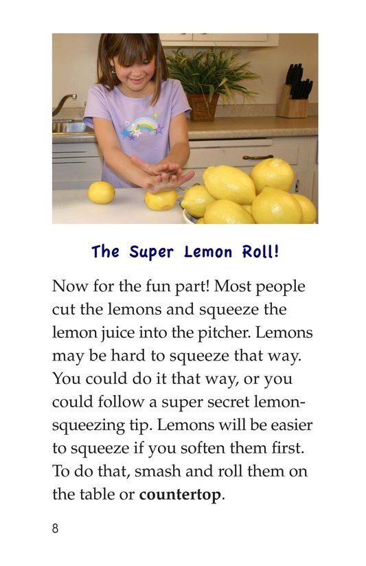 Book Preview For How to Make Lemonade Page 8
