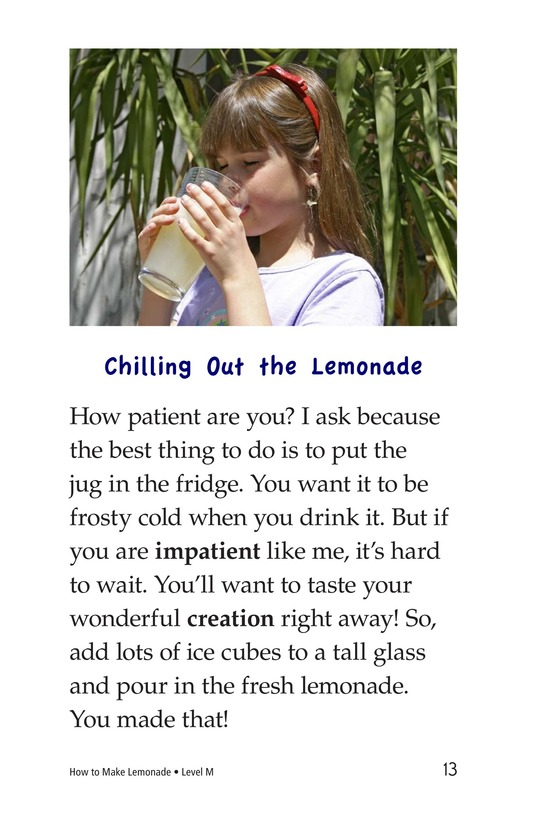 Book Preview For How to Make Lemonade Page 13
