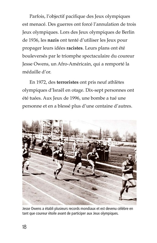 Book Preview For The Olympics: Past and Present Page 18