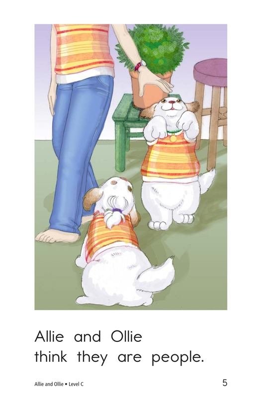 Book Preview For Allie and Ollie Page 5