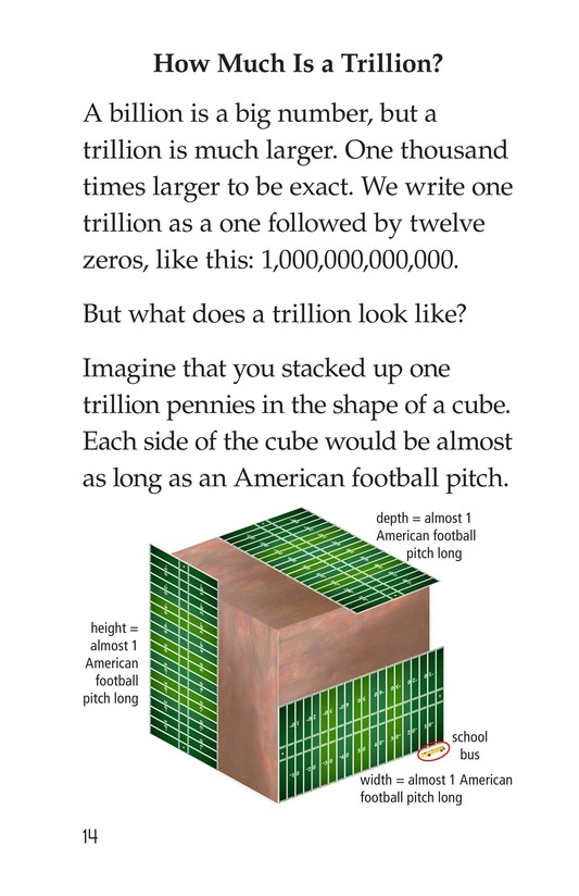 Book Preview For How Much Is a Trillion? Page 14