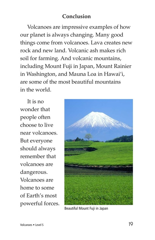 Book Preview For Volcanoes Page 19