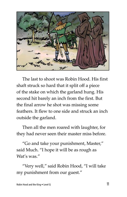 Book Preview For Robin Hood and the King Page 11
