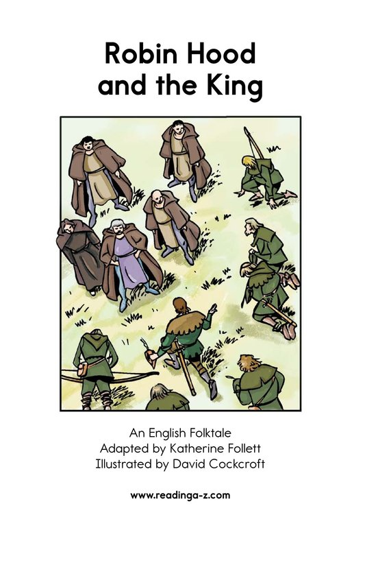 Book Preview For Robin Hood and the King Page 2