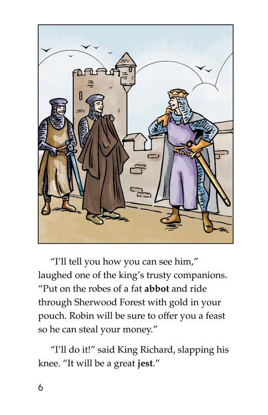 Book Preview For Robin Hood and the King Page 6