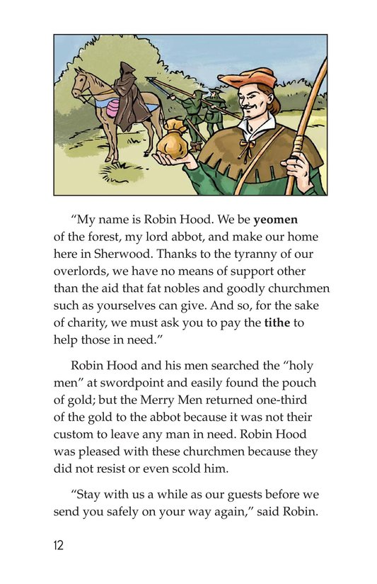 Book Preview For Robin Hood and the King Page 12