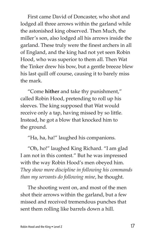 Book Preview For Robin Hood and the King Page 17