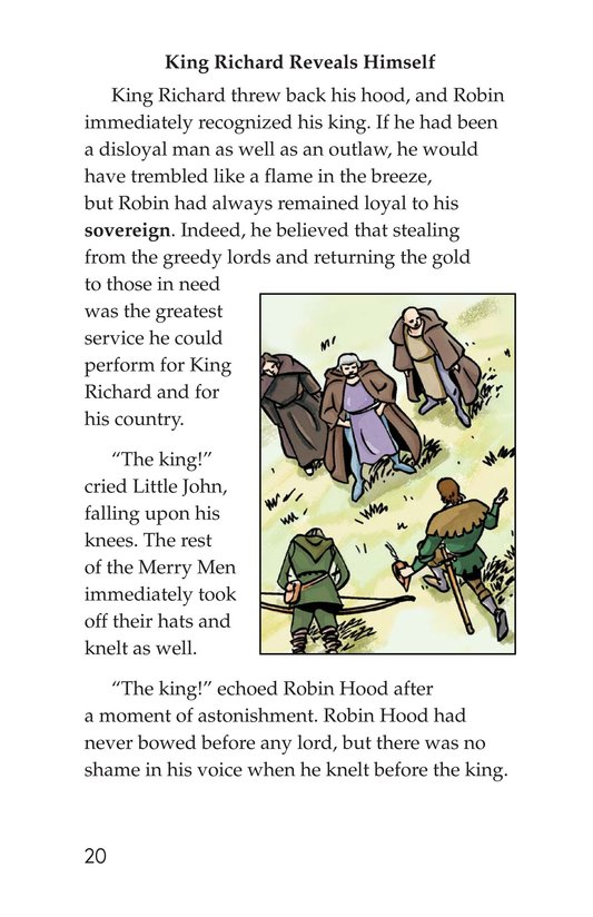 Book Preview For Robin Hood and the King Page 20
