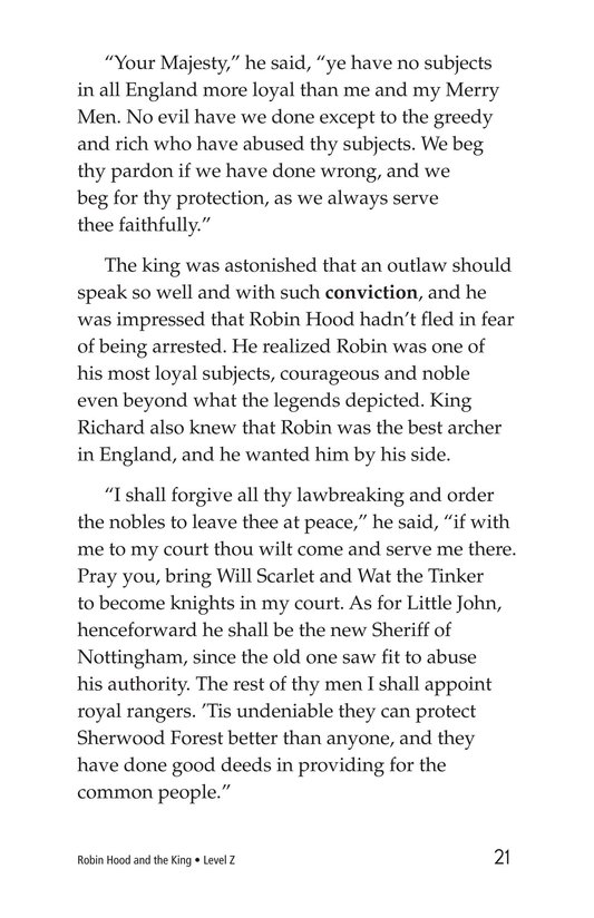 Book Preview For Robin Hood and the King Page 21