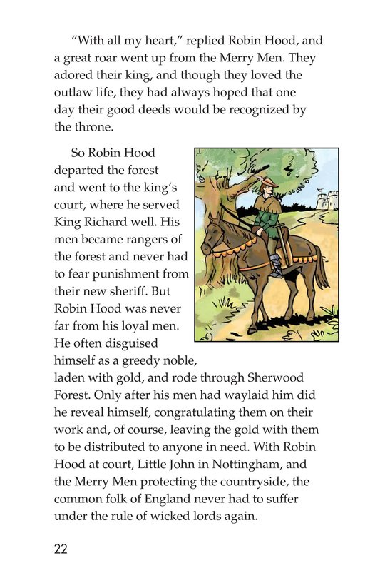Book Preview For Robin Hood and the King Page 22
