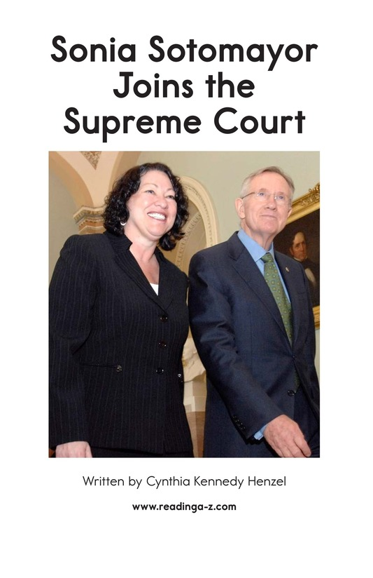 Book Preview For Sonia Joins the Supreme Court Page 2