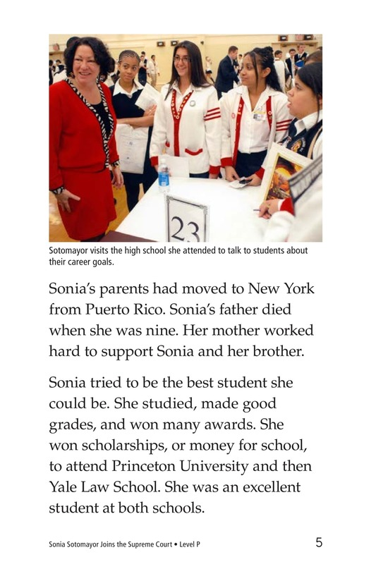 Book Preview For Sonia Joins the Supreme Court Page 5