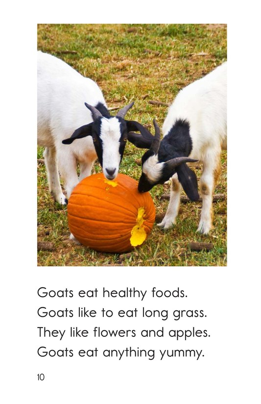 Book Preview For Goats Are Great! Page 10