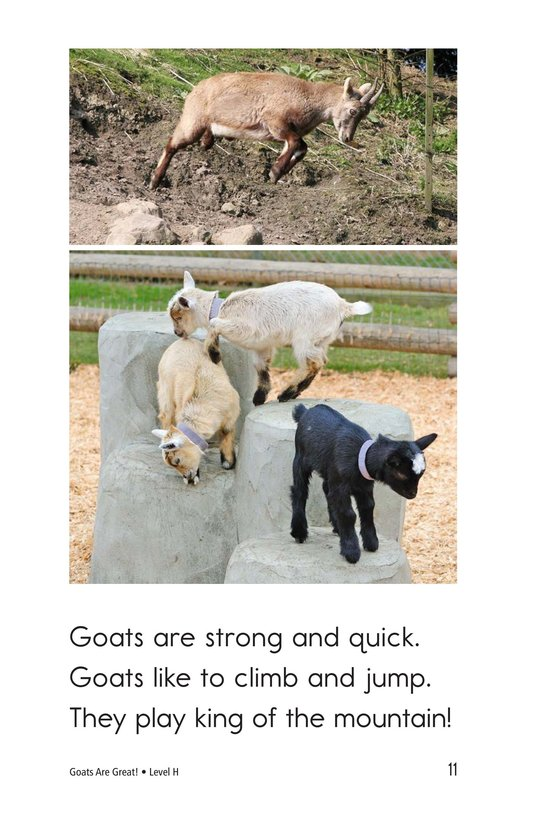 Book Preview For Goats Are Great! Page 11
