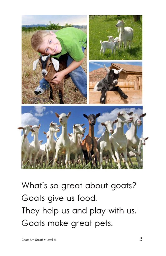 Book Preview For Goats Are Great! Page 3