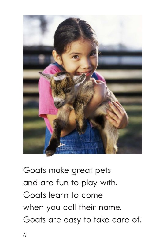 Book Preview For Goats Are Great! Page 6