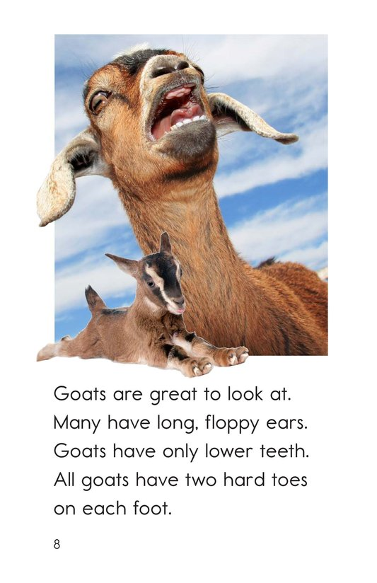Book Preview For Goats Are Great! Page 8