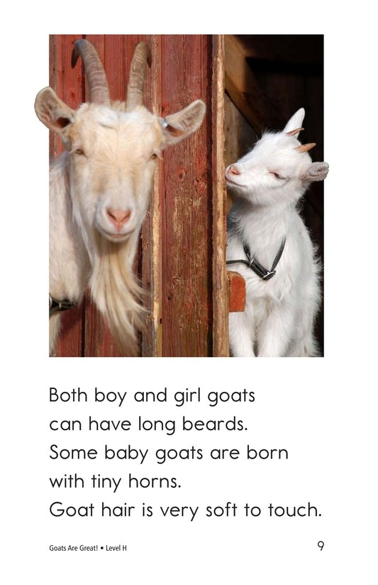 Book Preview For Goats Are Great! Page 9