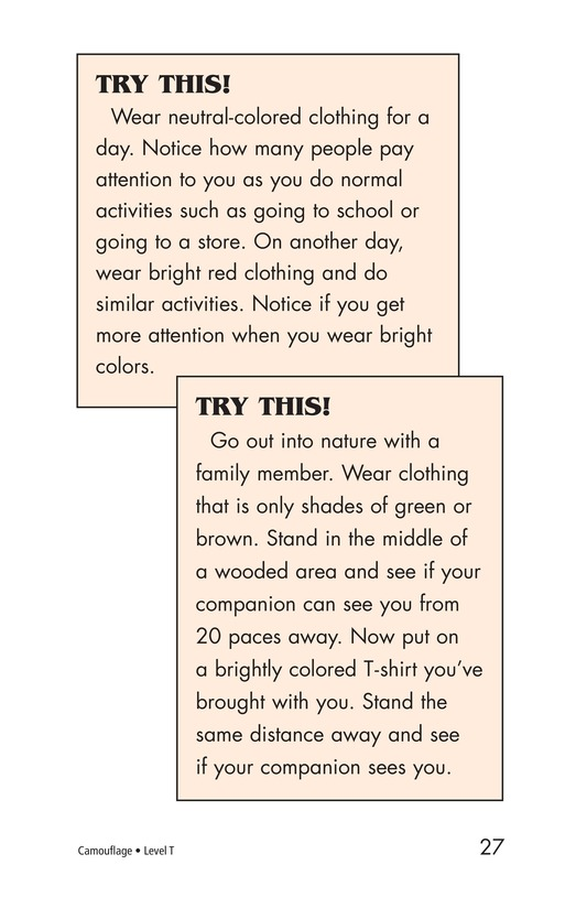 Book Preview For Camouflage Page 27
