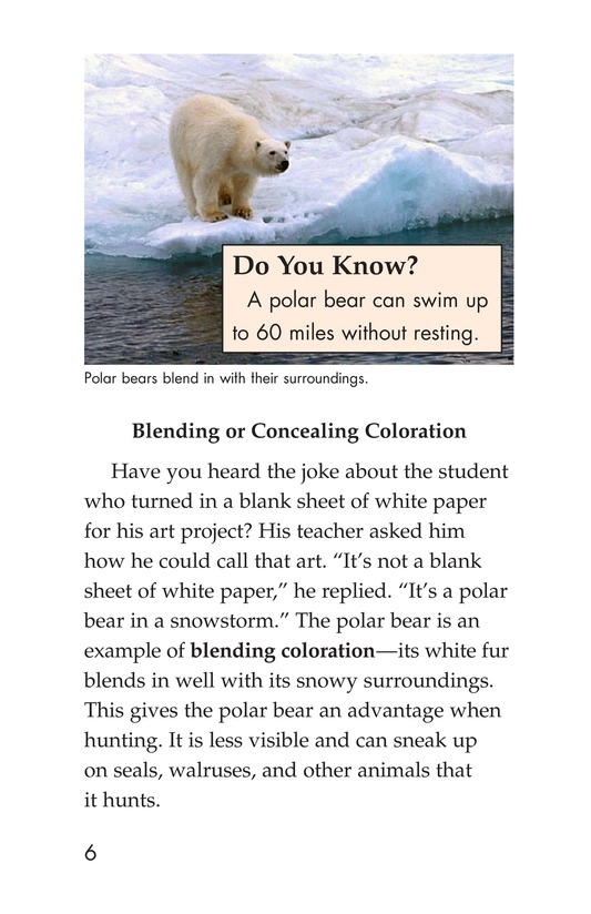 Book Preview For Camouflage Page 6