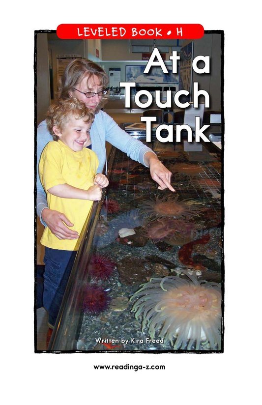 Book Preview For At a Touch Tank Page 1