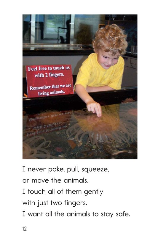 Book Preview For At a Touch Tank Page 12