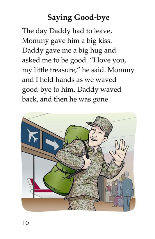 Book Preview For Hugs for Daddy Page 10