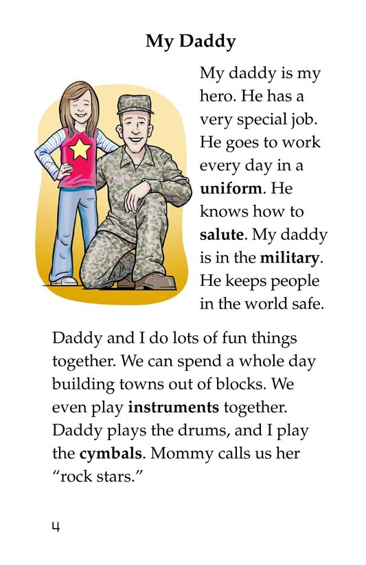 Book Preview For Hugs for Daddy Page 4