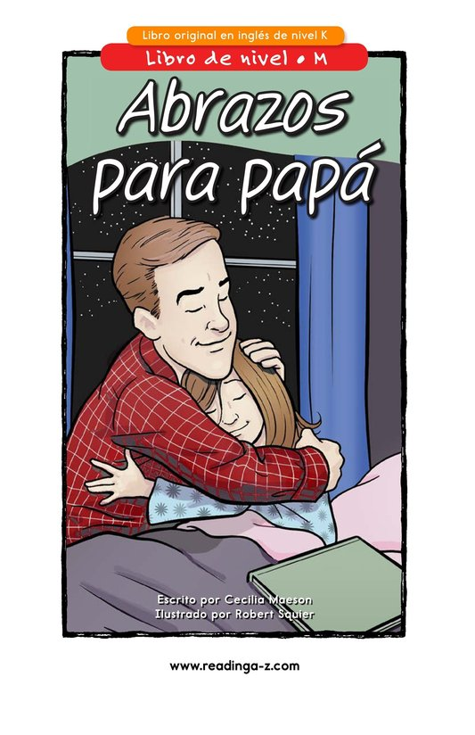 Book Preview For Hugs for Daddy Page 1