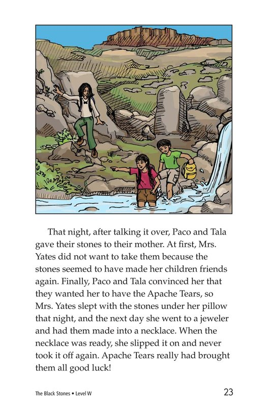 Book Preview For The Black Stones Page 23